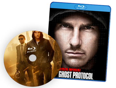 DVD case of Ghost Protocol